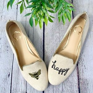 """C. Wonder canvas loafers Bee 🐝 Happy Size 6.5"""""""